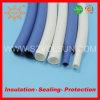 Tubulação colorida do silicone do produto comestível