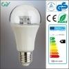 Transparentes Cover Light Pipe E27 A60 8W 10W LED Bulb mit CER RoHS GS SAA