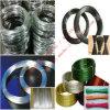 Fio de aço inoxidável galvanizado do fio do PVC do fio obrigatório de fio do ferro