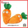 Jouet promotionnel de peluche de carotte de cadeau d'usine de la Chine