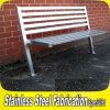 フォーシャンKeenhai OEMのステンレス鋼の屋外の庭のベンチ