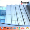 Material compuesto de la fachada del panel del cinc Titanium profesional del fabricante de Ideabond