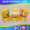 Cinta adhesiva de acrílico amarillenta del embalaje de BOPP