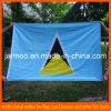 Флаг знамени компании выдвиженческий голубой