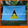 Firma-fördernde blaue Fahnen-Markierungsfahne