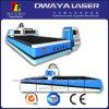 Machine de découpage de fibre optique de laser de commande numérique par ordinateur de plat en aluminium des prix 500W