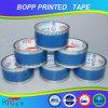 La alta calidad de Hongsu imprimió la cinta adhesiva del embalaje de BOPP