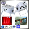 Stadium Strobe Effect 6PCS RGBWA UV 6 In1 Color Mixing LED PAR Can Lights LED PAR Zoom Stage Light