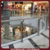 Acero y cristal barandilla para un lugar público (DMS-B2102D)