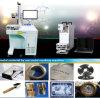 Máquina sellada venta caliente de la marca del laser de la fibra de la marca de fábrica de Holylaser para la joyería, acero