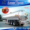 40000 litres d'alliage d'aluminium d'essence/eau/vin de camion-citerne remorque semi