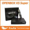 VFDの表示が付いているOpenbox X5極度のHDのサテライトレシーバ