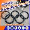 3.00-16 Chambre à air de moto de tube de butyle de conformité de POINT