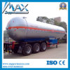 Tri-Axle Widely Used LPG Tanker Gas Tank Semi Trailer für Sale