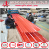 Hoja de acero coloreada acanalada del material de material para techos