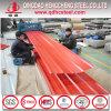 Chapa de aço colorida corrugada de material de telhadura