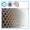 Utilisation rideau de mur en aluminium en nid d'abeille