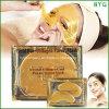 Cuidado del rostro Cristal de colágeno de oro en polvo Máscara de ojos y máscara facial