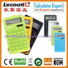 Calculadora electrónica del PLA del plástico del maíz de 10 dígitos (LC263PLA)