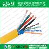 Диктор 4 проводников и категория U/UTP кабель составленный 5e