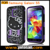 Samsung Galaxy S5のためのPC+Silicon Case