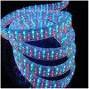 다색 4개의 철사 편평한 수직 LED 밧줄 빛 세륨 RoHS