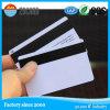 Cartão plástico do PVC da tira magnética do Inkjet Olá!-Co/Co personalizado do projeto