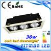 Gril Downlight, ÉPI 36W DEL Downlight de la qualité DEL d'usine de Fitman DEL