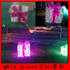 분홍색과 White 3D Motif LED Deocration Gift Box Light