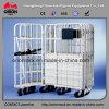 Lager-faltbarer Draht-Rahmen-Rollenbehälter