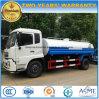 Caminhão quente do transporte da água da venda 170kw de Dongfeng caminhão da água de 10 quilolitros a de 15 quilolitros