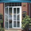 Qualitäts-Aluminiumfalz-Tür mit weißer oder grauer Farbe