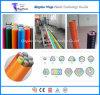 Chaîne de production de galerie pour câbles de HDPE de machine d'extrusion de pipe de faisceau de silicium de HDPE