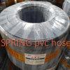 Renforcé 5 boyau de jardin de PVC de la couche 1/2  avec le connecteur en plastique