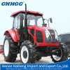 農業Tractor High Efficiency 90HP Farm Tractor、4 Wheeled Tractors