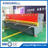 QC12y-8X4000 de Scherende Machine van het Blad van het Metaal van de Straal van de Schommeling