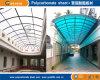Hoja del material para techos del policarbonato; Hoja de pared gemela del policarbonato