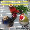 regalo di ceramica della decorazione del giardino di natale delle statue del Figurine dell'uccello della porcellana antica dB1072