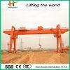 Steel Material를 위한 두 배 Girder Gantry Crane
