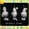 A árvore de Natal Ornaments o boneco de neve de suspensão do Natal Handmade para a decoração da HOME do Natal