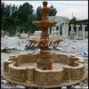 Marmeren Fontein mf-1022 van het Calcium van de Fontein van het Graniet van de Fontein van de Steen van de Fontein Gouden