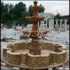 Fonte dourada Mf-1022 do cálcio do Travertine de pedra de mármore do jardim do granito