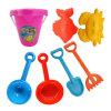Die zusammenklappbaren Kinder schließen Pitshop Plastikstrand-Spielzeug mit Handwerkzeug an
