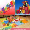 Cabrito de los niños que enclavija el juego suave del azulejo de suelo del juguete del rompecabezas de la espuma de la gimnasia de la estera del juego de EVA