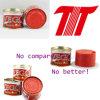 Vego Marque Pâte de tomate Taille 70g 28-30% Brix Pâte de tomate Fabricant