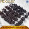 O cabelo humano brasileiro de 100% remenda o cabelo maioria cru (FDX-BL19)