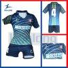 O uniforme Sublimated 3D o mais barato de Jersey do futebol dos fabricantes de Healong