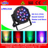 LED par-18 Can met DMX Disco Light