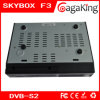 F-3 de Skybox de récepteur satellite du support WiFi/Youtobe