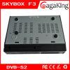 F3 de Skybox del receptor basado en los satélites del soporte WiFi/Youtobe